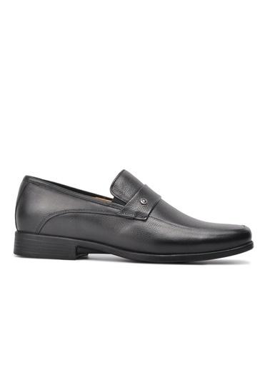Ayakmod 715 Siyah Hakiki Deri Comfort Günlük Ayakkabı Siyah